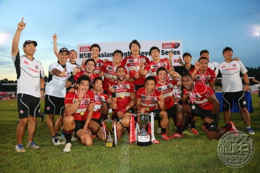 2013 HSBC Asian Sevens Series champions JAPAN_rugby_131110-1