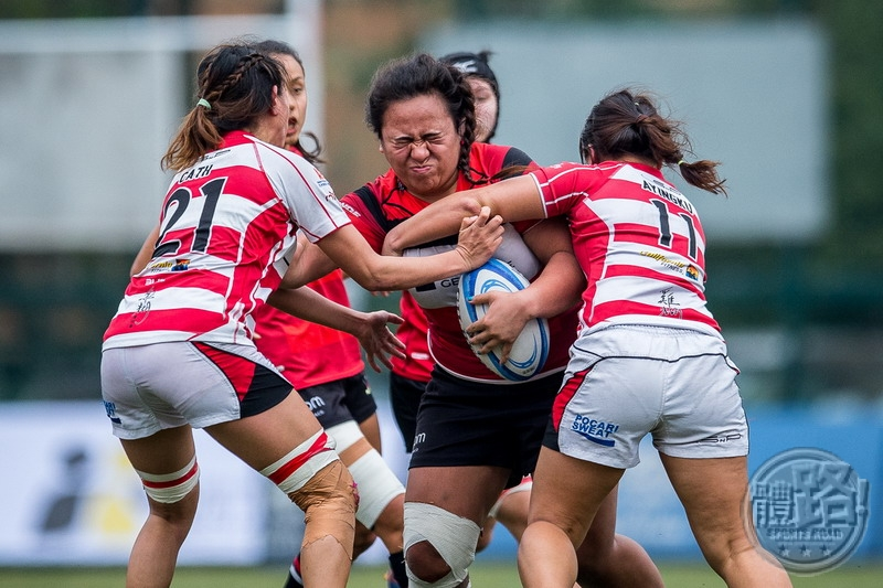 Valley Black (middle red) completed a perfect season, beating Gai Wu 20-10 to take out the double